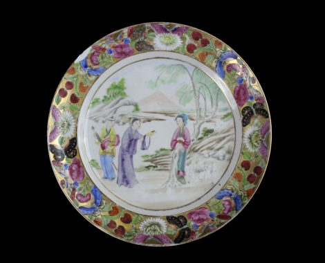 Scenery Plate